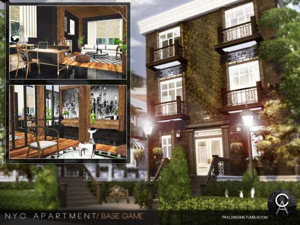 NYC Apartment by Pralinesims at TSR image 21 Sims 4 Updates