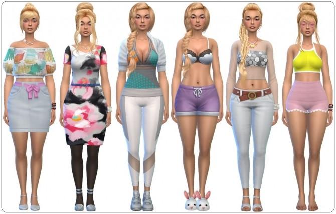 Sims 4 Model Babette at Annett's Sims 4 Welt