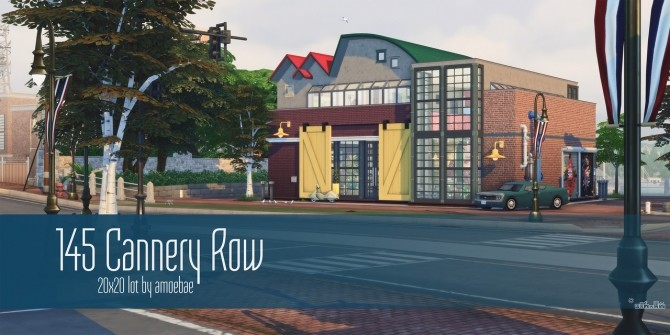 145 CANNERY ROW modern factory living space at Picture Amoebae image 2114 670x335 Sims 4 Updates