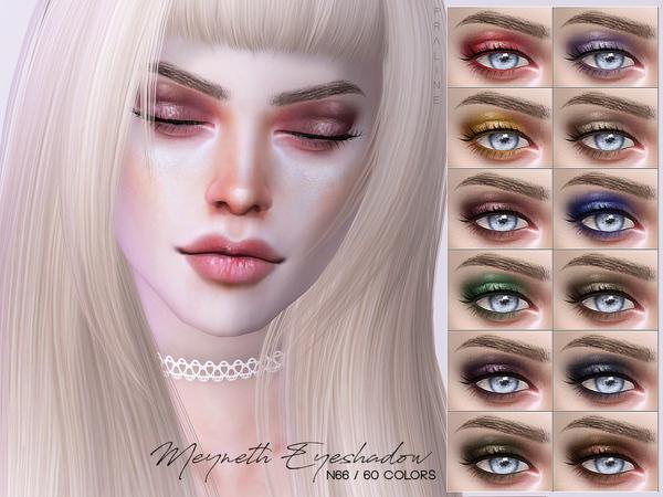 Sims 4 Meyneth Eyeshadow N66 by Pralinesims at TSR