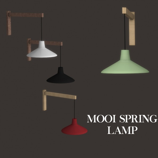 Spring Lamp at Leo Sims image 2119 670x670 Sims 4 Updates