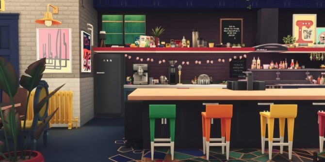 145 CANNERY ROW modern factory living space at Picture Amoebae image 2121 670x335 Sims 4 Updates