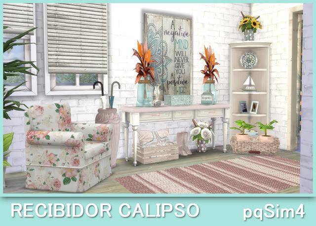 Sims 4 Calipso hallway at pqSims4