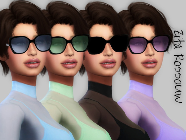 Sims 4 Color Shades by ZitaRossouw at TSR
