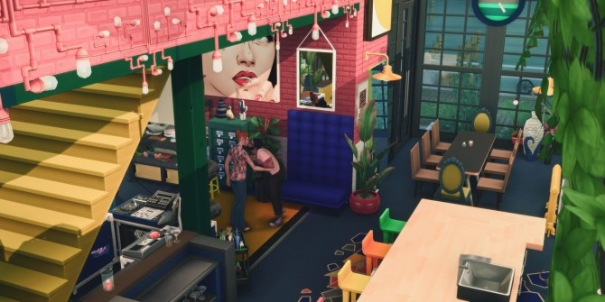 145 CANNERY ROW modern factory living space at Picture Amoebae image 2131 670x335 Sims 4 Updates