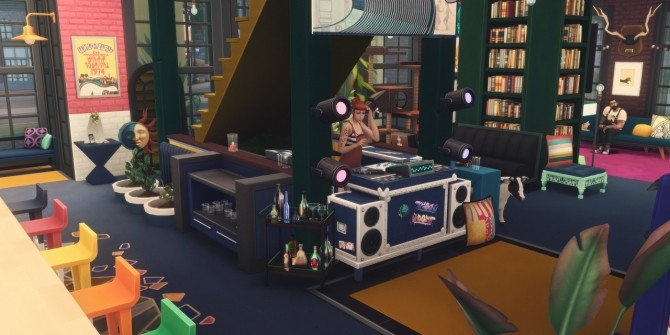 145 CANNERY ROW modern factory living space at Picture Amoebae image 2141 670x335 Sims 4 Updates