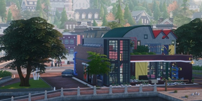 145 CANNERY ROW modern factory living space at Picture Amoebae image 2171 670x335 Sims 4 Updates