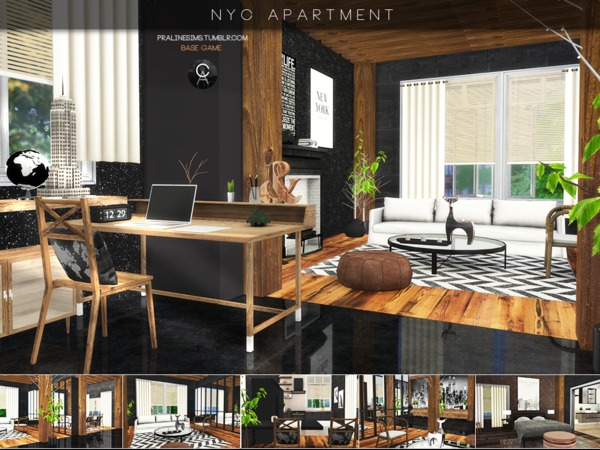 NYC Apartment by Pralinesims at TSR image 22 Sims 4 Updates