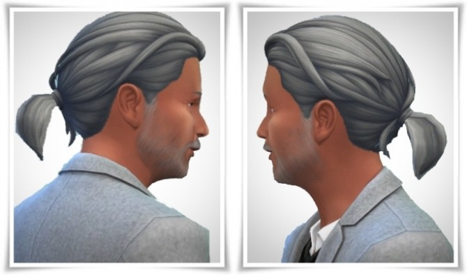 Sims 4 Tiny Ponytail male at Birksches Sims Blog