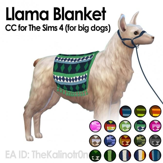 Llama Blankets at Kalino image 22112 670x670 Sims 4 Updates