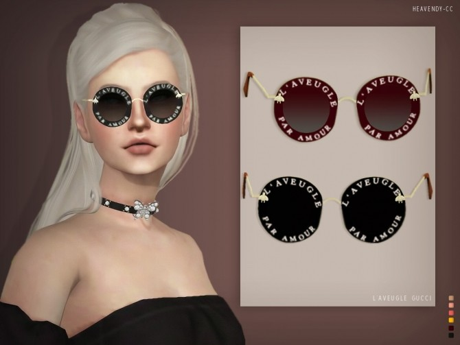 Sunglasses at Heavendy cc image 2214 670x503 Sims 4 Updates