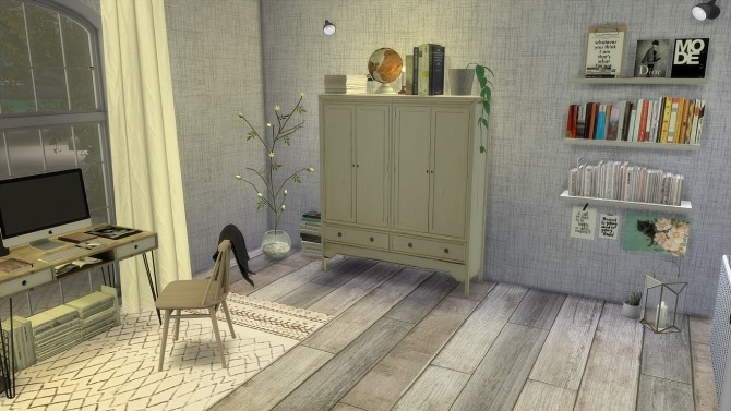 Sims 4 NY Office at PortugueseSimmer