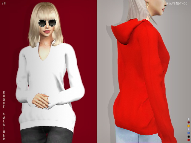 Rouge Sweater VI & VII at Heavendy cc image 2351 Sims 4 Updates
