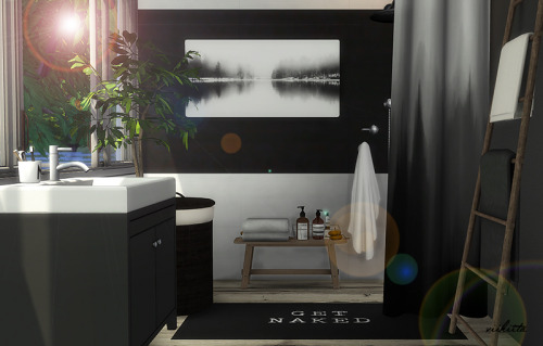 Forest Bathroom at Viikiita Stuff image 241 Sims 4 Updates