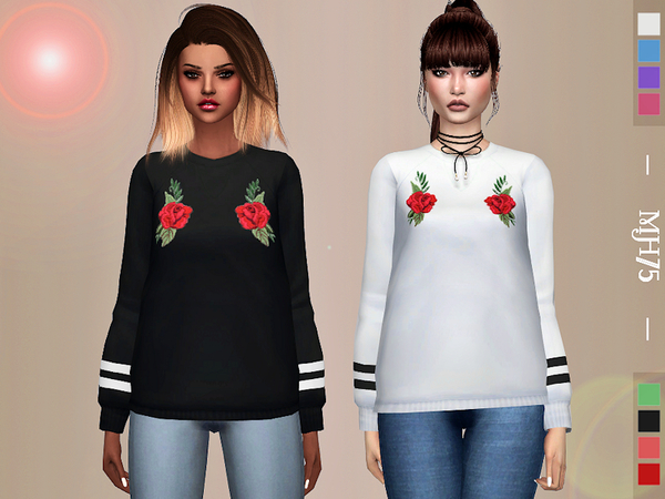 Sims 4 Twyla Top by Margeh 75 at TSR
