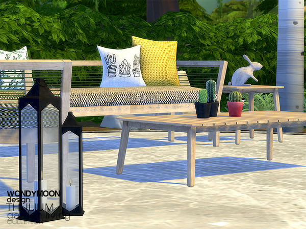 Thulium Garden Living by wondymoon at TSR image 2422 Sims 4 Updates