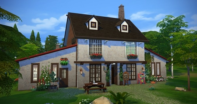 L'auberge house at Simsontherope image 2481 670x355 Sims 4 Updates