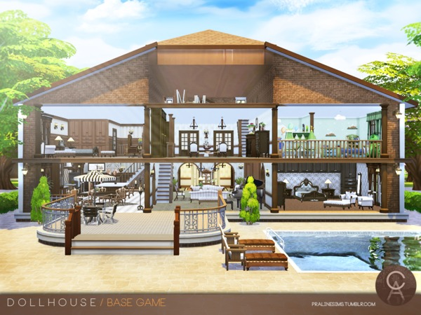 Dollhouse by Pralinesims at TSR image 2512 Sims 4 Updates