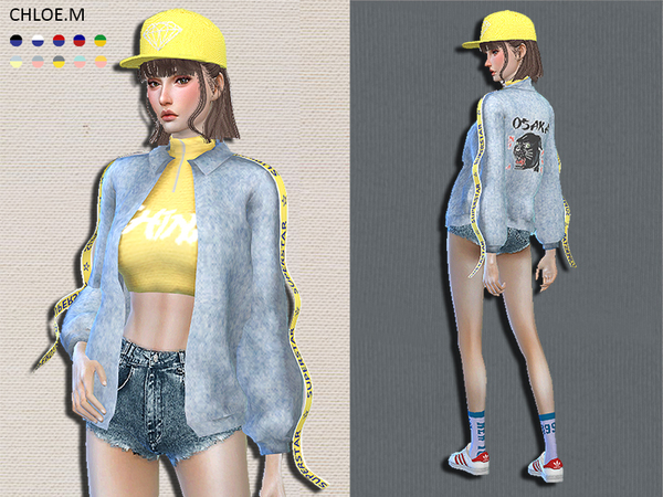 Trendy Jacket by ChloeMMM at TSR image 258 Sims 4 Updates