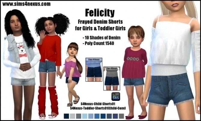 Felicity shorts by SamanthaGump at Sims 4 Nexus image 2601 670x402 Sims 4 Updates