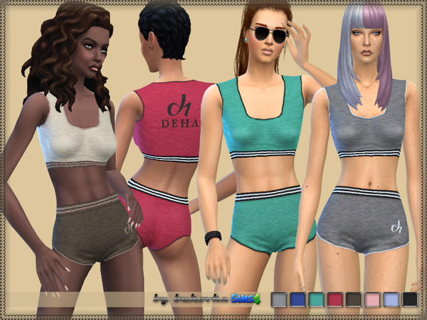 Sims 4 Sport Suit by bukovka at TSR