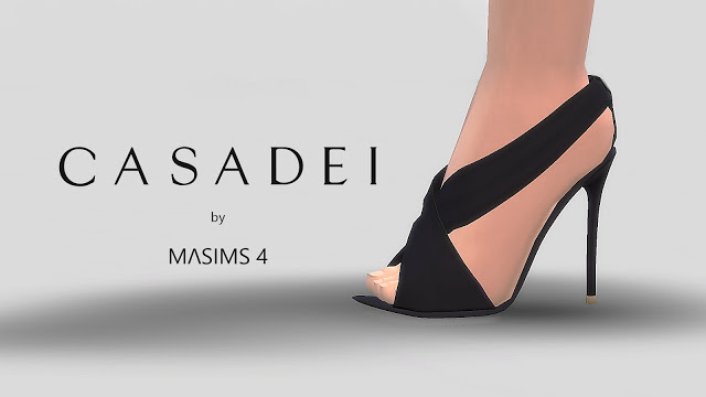 Sims 4 Crossover Sandals at MA$ims4