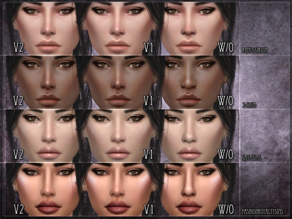 Nose mask 02 SET by RemusSirion at TSR image 265 Sims 4 Updates
