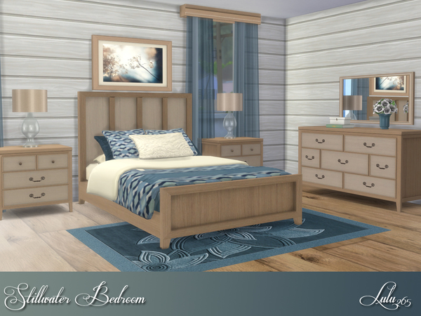 Stillwater Bedroom by Lulu265 at TSR image 268 Sims 4 Updates