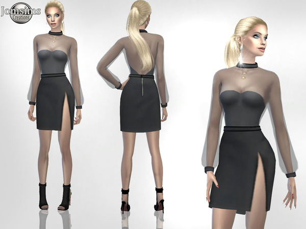 Sims 4 Greema outfit 2 by jomsims at TSR