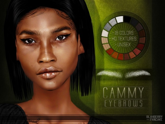 Cammy eyebrows at Blahberry Pancake image 2741 670x503 Sims 4 Updates