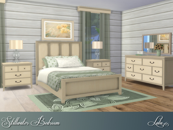 Stillwater Bedroom by Lulu265 at TSR image 278 Sims 4 Updates