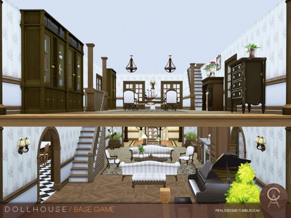 Dollhouse by Pralinesims at TSR image 279 Sims 4 Updates