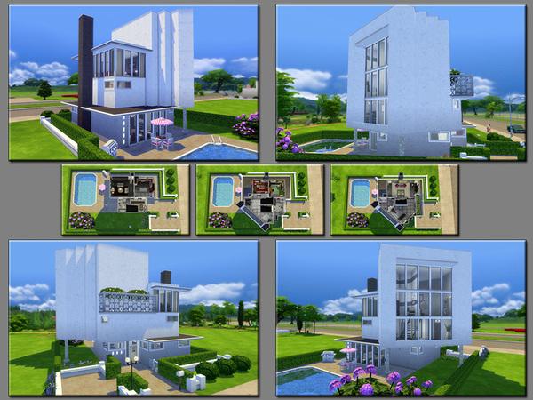 Sims 4 MB Polygonal Block by matomibotaki at TSR