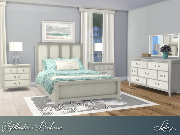 Stillwater Bedroom by Lulu265 at TSR image 288 Sims 4 Updates