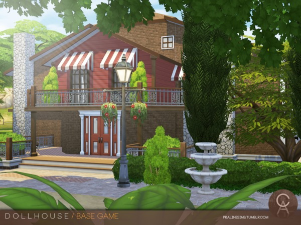 Sims 4 Dollhouse by Pralinesims at TSR