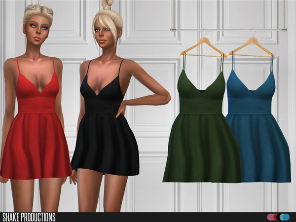 Sims 4 105 Dress by ShakeProductions at TSR