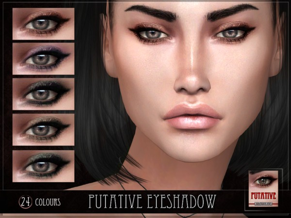 Sims 4 Putative Eyeshadow by RemusSirion at TSR