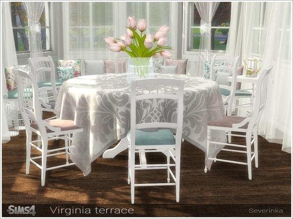Virginia terrace by Severinka at TSR image 309 Sims 4 Updates
