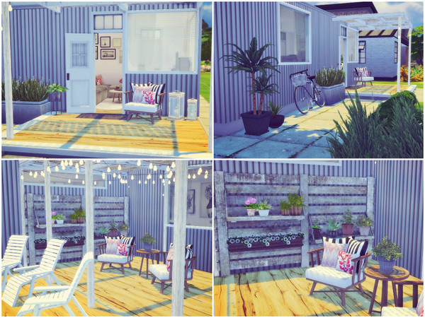 Sims 4 Cozy Container by Sooky at TSR