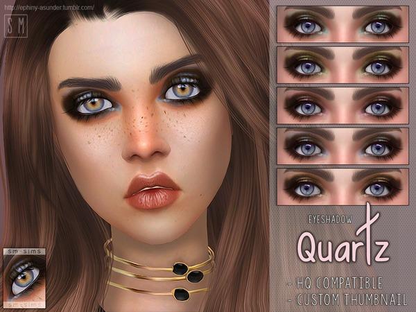 Quartz Eyeshadow by Screaming Mustard at TSR image 3112 Sims 4 Updates