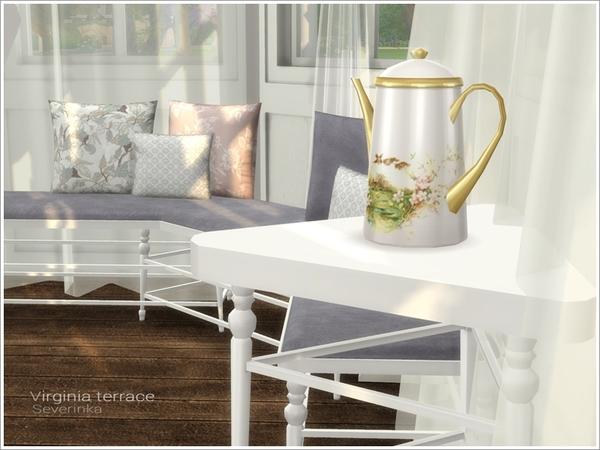 Virginia terrace by Severinka at TSR image 3113 Sims 4 Updates