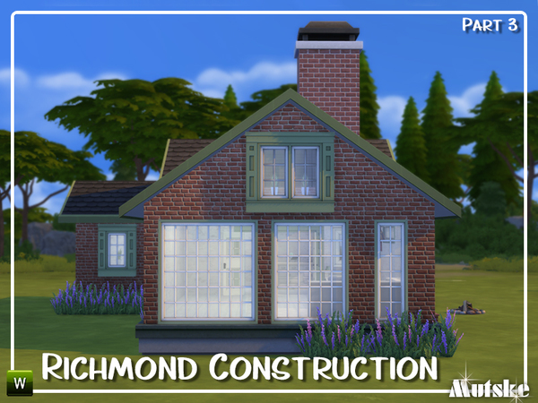 Sims 4 Richmond Construction set Part 3 by mutske at TSR