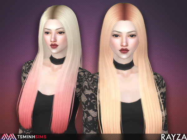 Rayza Hair 56 Set by TsminhSims at TSR image 3116 Sims 4 Updates
