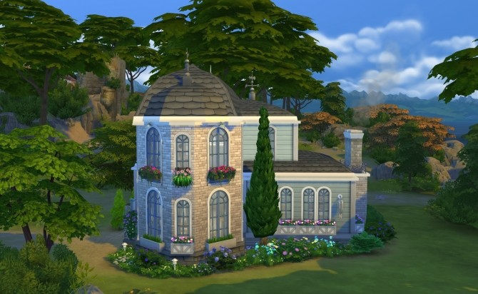 Sims 4 Serenity Cottage NoCC by OxanaKSims at Mod The Sims