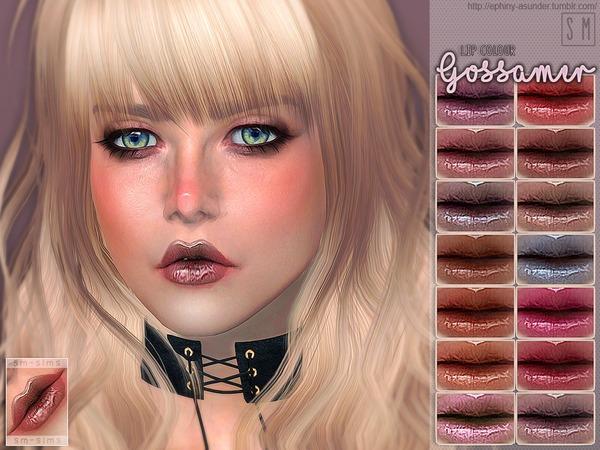 Sims 4 Gossamer Lip Colour by Screaming Mustard at TSR