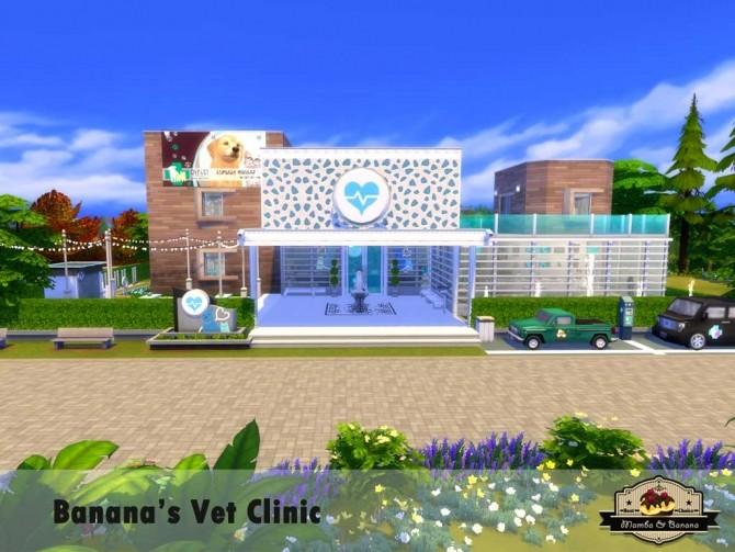 Bananas Vet Clinic (No CC) by mamba black at Mod The Sims image 3218 670x503 Sims 4 Updates
