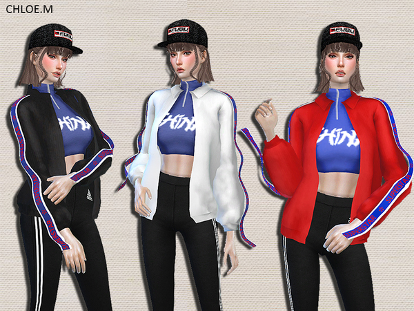 Trendy Jacket by ChloeMMM at TSR image 327 Sims 4 Updates