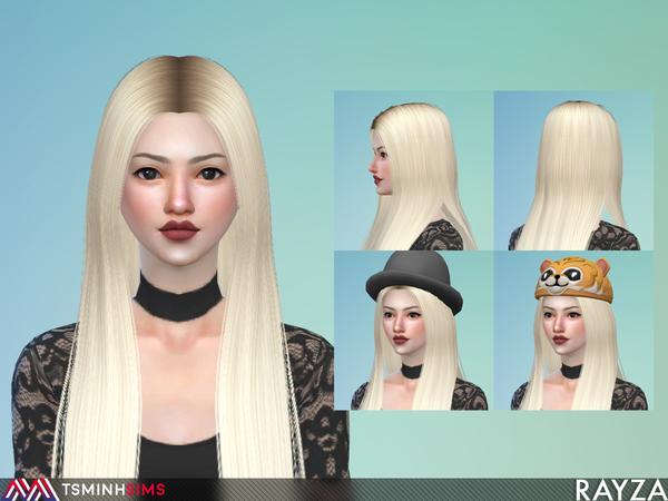 Rayza Hair 56 Set by TsminhSims at TSR image 3312 Sims 4 Updates