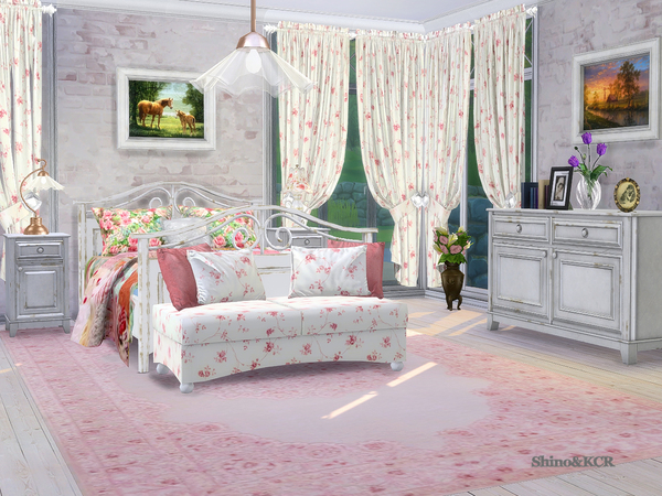 Bedroom Country by ShinoKCR at TSR image 335 Sims 4 Updates