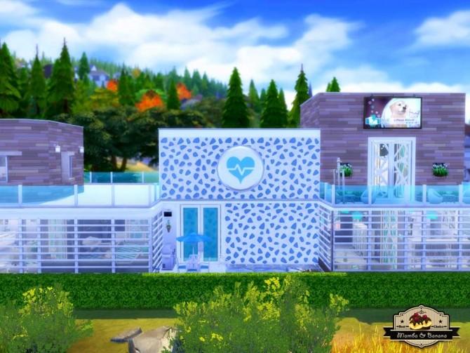 Bananas Vet Clinic (No CC) by mamba black at Mod The Sims image 3416 670x503 Sims 4 Updates